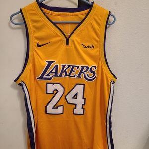 LA Lakers Kobe Bryant special edition jersey sz L